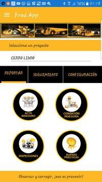 Fred App - Registro de Observaciones Preventivas screenshot 1