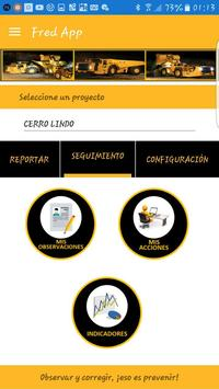 Fred App - Registro de Observaciones Preventivas screenshot 2