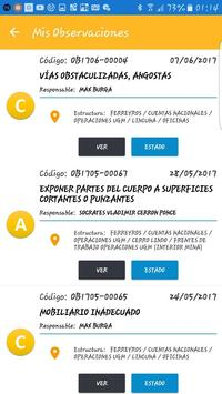Fred App - Registro de Observaciones Preventivas screenshot 4