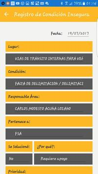 Fred App - Registro de Observaciones Preventivas screenshot 6
