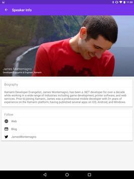 Xamarin Evolve apk screenshot
