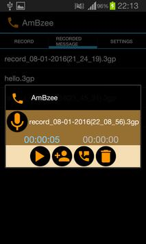 AmBzee (Auto answer calls) screenshot 3
