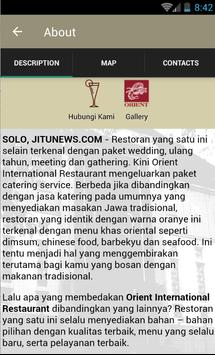 Orient International apk screenshot