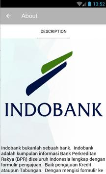 Indobank screenshot 1