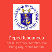 Deped Issuances icon