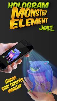 hologram monster element prank screenshot 3