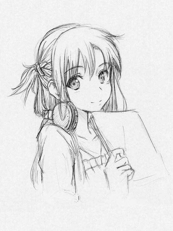 Zeichnende Anime Girl Ideen Für Android Apk Herunterladen