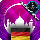 Germany Prayer Times Pro icon