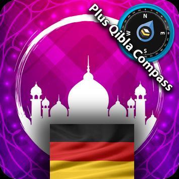 Germany Prayer Times Pro screenshot 1