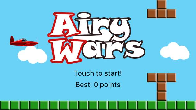 Airy Wars Free poster