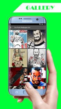 CM Punk Wallpaper screenshot 2
