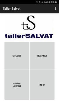 Taller Salvat App poster