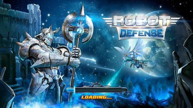Robot Defense Affiche