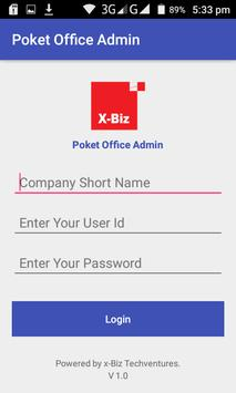 Poket Office Admin poster