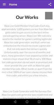 Free Xbox Code Generator for Android - APK Download