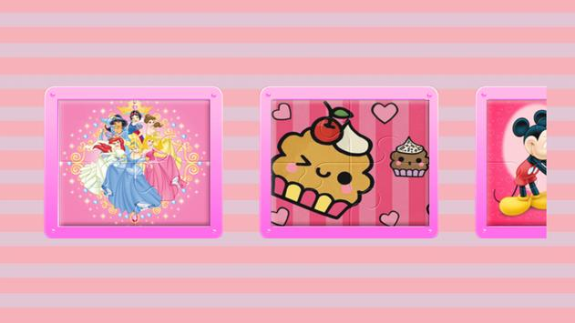 Princess Girl Puzzle Toddlers poster
