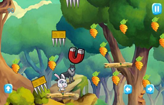 Bunny Journey Jungle apk screenshot