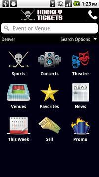 Hockey Ticket App poster