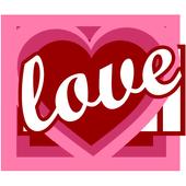 Love days counter icon