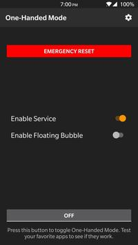 One-Handed Mode screenshot 2