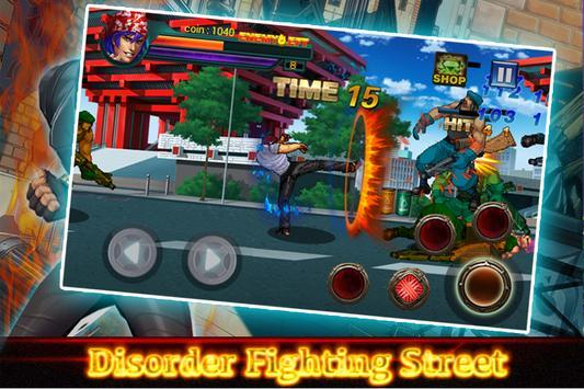 Disorder Fighting Street apk screenshot