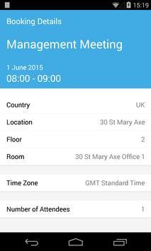 Condeco Mobile Room Booking apk screenshot