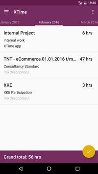 XTime apk screenshot