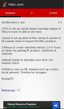 Xed News apk screenshot