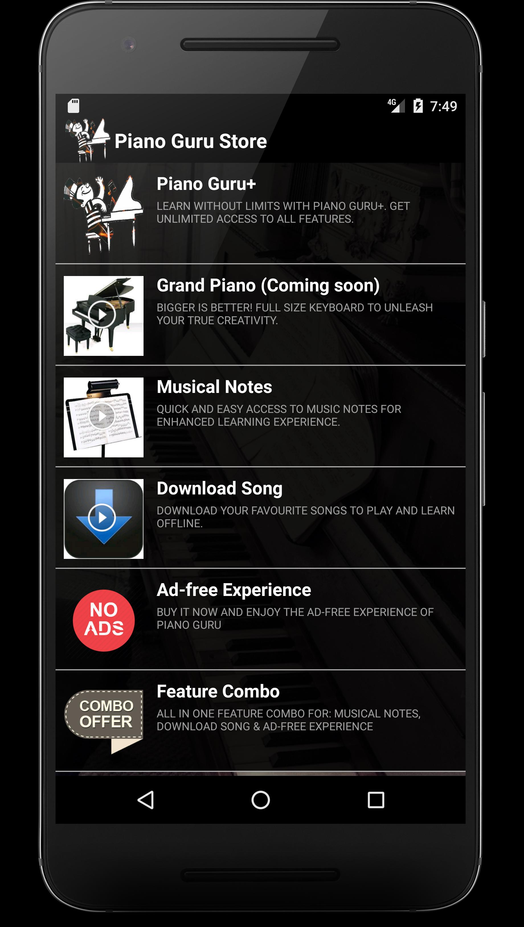 Piano Guru: Learn your favorite song for Android - APK Download