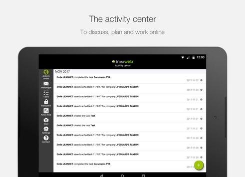 Inexweb apk screenshot