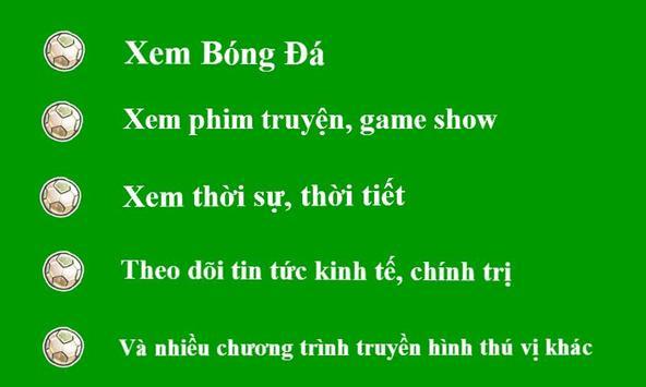 Xem Tivi Bong Da Truyen Hinh screenshot 1