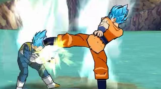 Super Saiyan Xenoverse battle poster