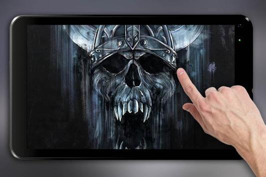 Skull 3d live wallpaper apk download free personalization app for skull 3d live wallpaper apk screenshot voltagebd Gallery