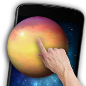 Space Galaxy 3D Live Wallpaper icon