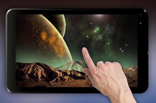 Space Galaxy 3D Live Wallpaper apk screenshot