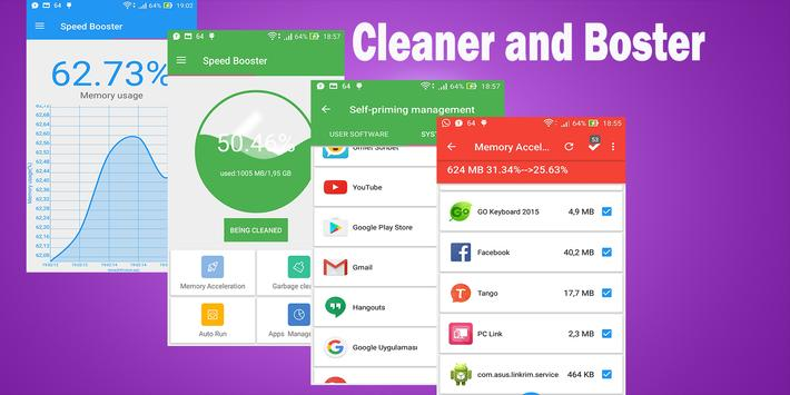 Speed  Booster and Cleaner apk screenshot