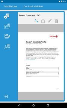 Xerox® Mobile Link screenshot 14