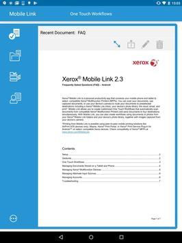 Xerox® Mobile Link screenshot 9