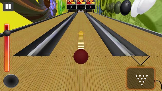 Real Ten Pin Bowling 3D apk screenshot