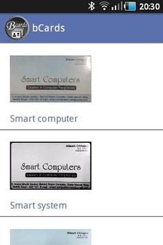 bCards - Business Card Manager apk screenshot