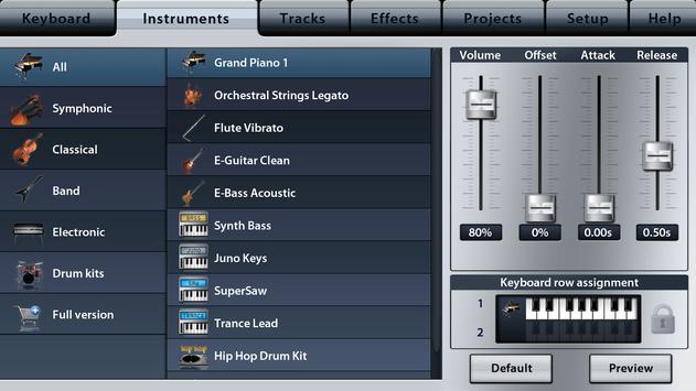 Music Studio Lite screenshot 1