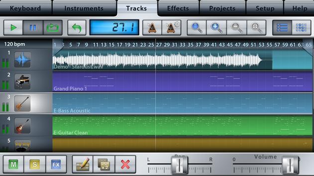 Music Studio Lite screenshot 2