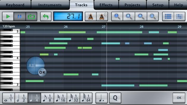 Music Studio Lite screenshot 3