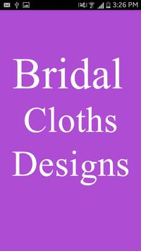 Bridal Cloths Designs poster