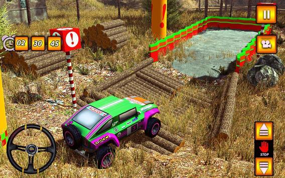 Multi SUV Jeep OffRoad Parking screenshot 6