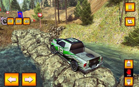 Multi SUV Jeep OffRoad Parking screenshot 8