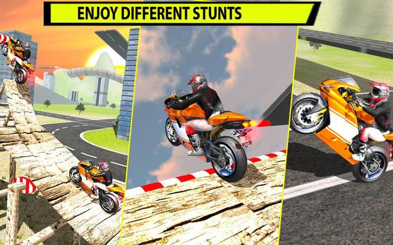 Extreme Motorbike Stunts 2017 apk screenshot
