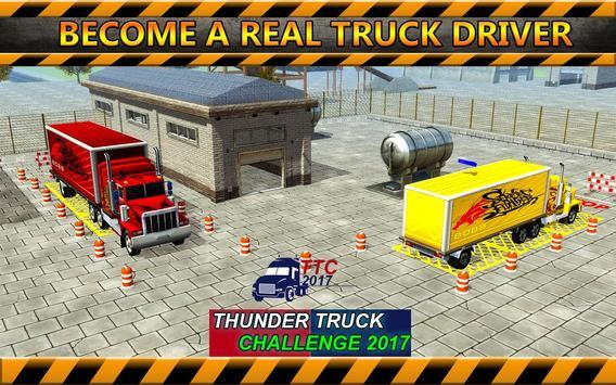 Thunder Truck Challenge 2017 apk screenshot