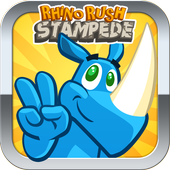 Rhino Rush Stampede icon