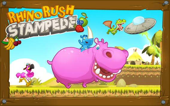 Rhino Rush Stampede screenshot 10